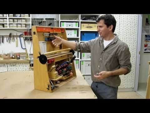 An interesting tool chest hinge mechanism - YouTube