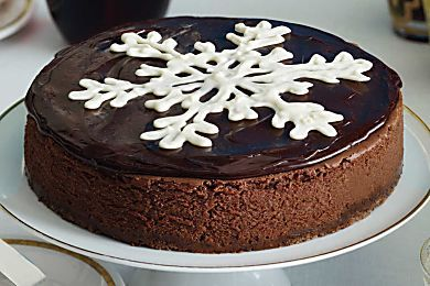Chocolate Truffle Cheesecake - Heavenly Holiday Desserts