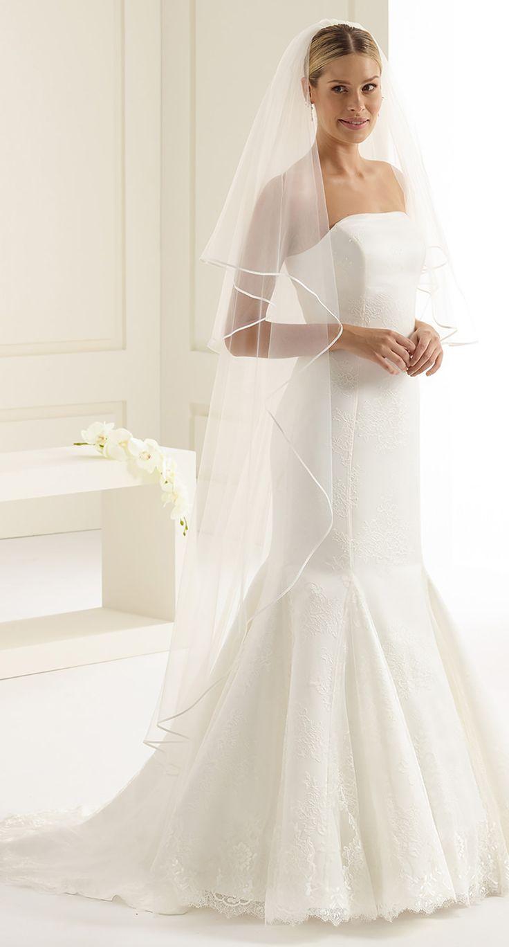 Glamorous veil S2 from Bianco Evento #biancoevento #veil #weddingdress #weddingideas #bridetobe