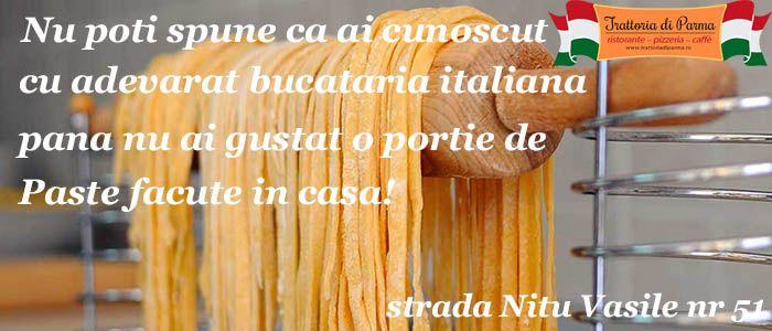 Paste Fresca by Trattoria di Parma http://trattoriadiparma.ro/