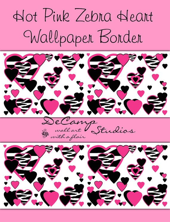 Wall decal geometric wall art geometric wall decor abstract wall decal - Border Wall Decals For Teen Girls Bedroom Or Children S Room Decor