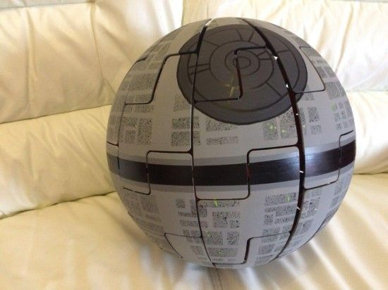 Your own death star lamp! IKEA PS 2014 Death Star Hack