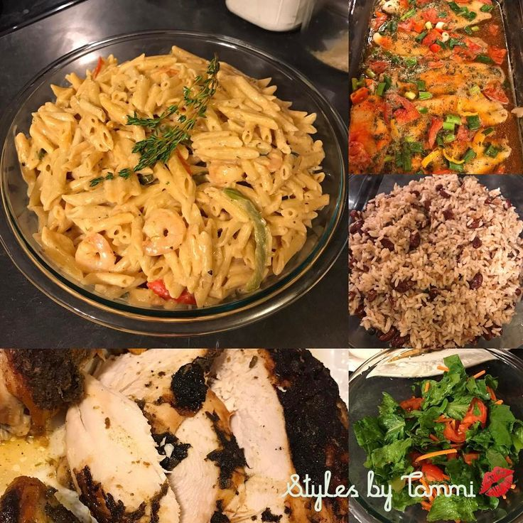 Dinner last night included Jerk Chicken , Rasta Pasta w/ shrimp, Rice and peas, fish and salad �� Cooking is my 2nd love����Styles by Tammi��Shop Bunni's Bundles�� Premium Brazilian virgin hair⭐️ #ilovetocook #domesticated #cooking #joinus #weaves #weaveologist #weavespecialist #weavinghair #styles#stylist #stylistssupportingstylists #stylistshopconnect #hair #hairstyle #hairstylist #hairextensions #hairdresser #hairdressermagic #hairdresserlife #hairweave #licensedstylist…