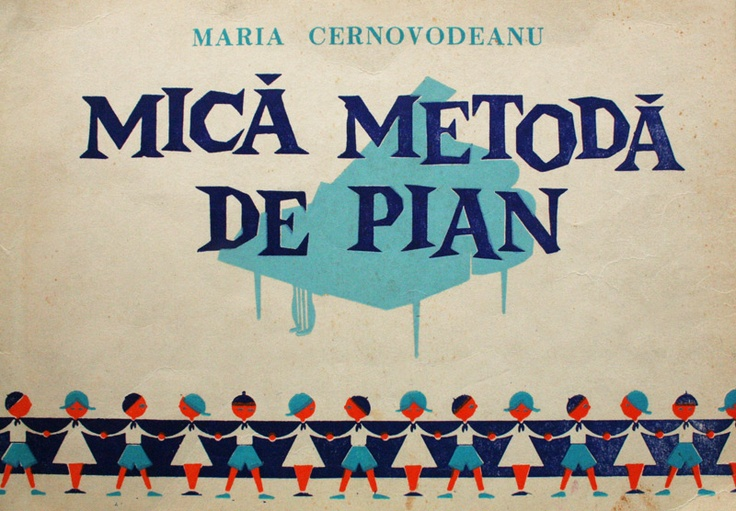 It looks funny on the cover, The Little Piano Method, by Maria Cernovodeanu, but the inside was not so funny for me as a 5 year old learing to play.