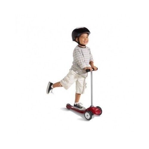 Scooter Radio Flyer Pro-Glider 3-Wheel Safety Stable Outdoor Play Kick Ride  #RadioFlyer
