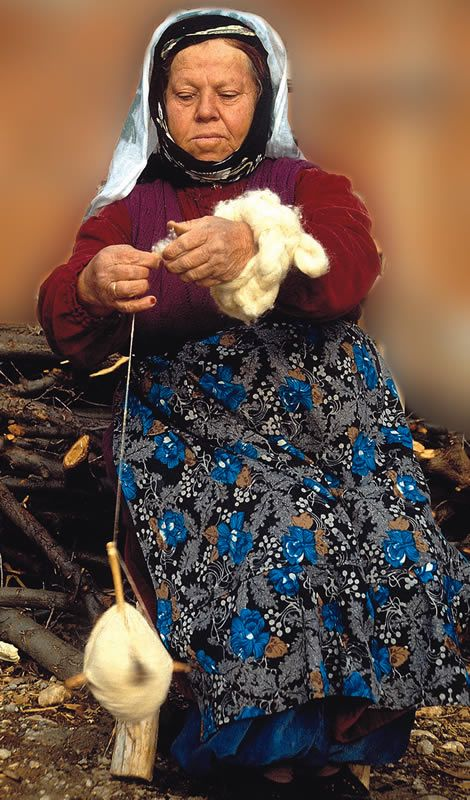 Weaving and Carpets - Turkey.