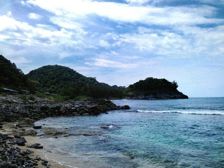 Lhoknga beach. Aceh, indonesia