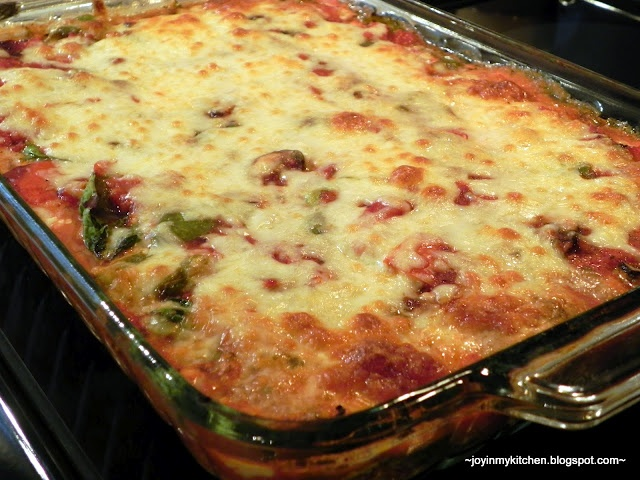... in My Kitchen: Roasted Garden Vegetable Lasagna with Zucchini Noodles