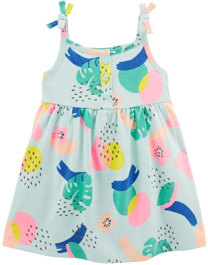 f1a6d117bec4 Baby Girl Carter's Tropical Henley Tank Dress | Products