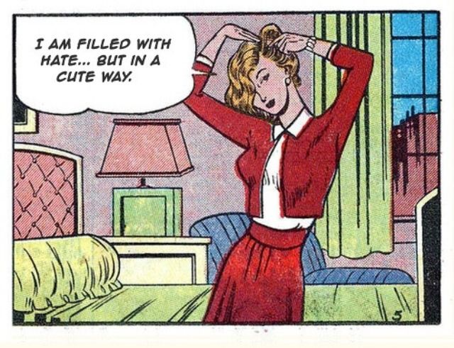 Heather Chandler Comic Strip