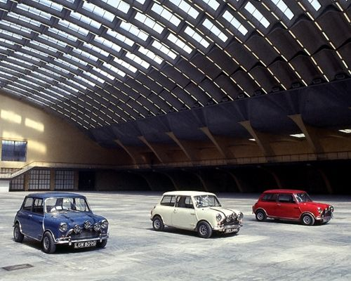 Mini Cooper S - The Italian Job #ItalianJob #Mini #FamousCars