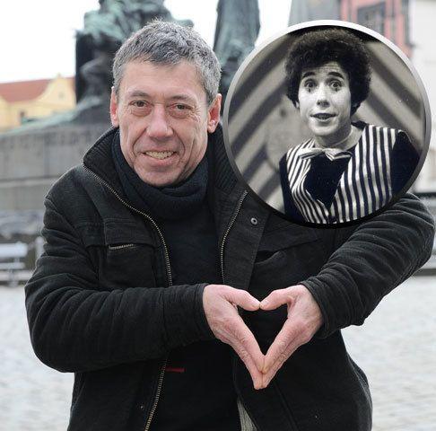 Mím Valentín z detskej relácie Slniečko na rukavičke.Vtedy a dnes.
