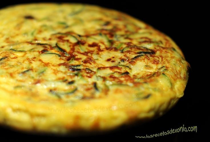 TORTILLA DE CALABACIN | Las Recetas de Xonia ... para Dukan