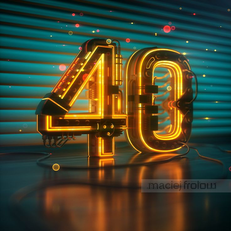 Illustration for the 40th anniversary of Workbook.  #typography #madewithmodo #lettering #logo #logotype #logotypedesign #illustration #workbook #40 #anniversary #technology #rendering #modeling