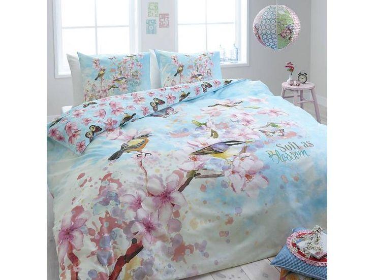 Dreamhouse Bedding Flanellen Dekbedovertrek Blossom