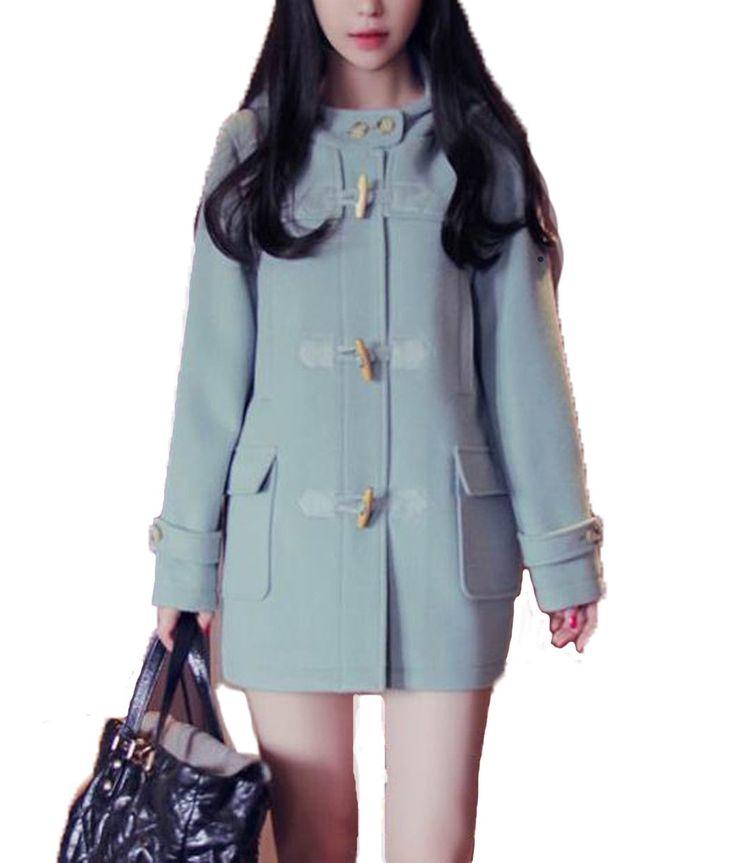 Amazon.co.jp: (レディースファッションミューズ)Ladies Fashion Muse 韓国版ロングコート: 服&ファッション小物通販