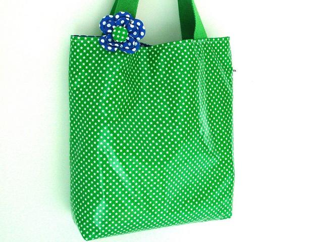 Tas voor beginnende naaisters. + mooie bloem