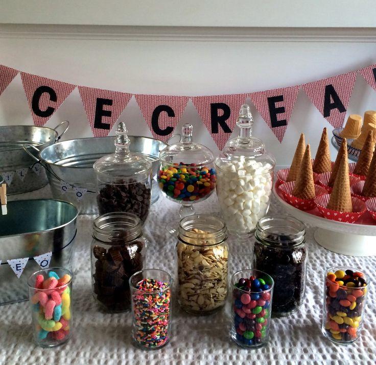 DIY Ice Cream Party Idea