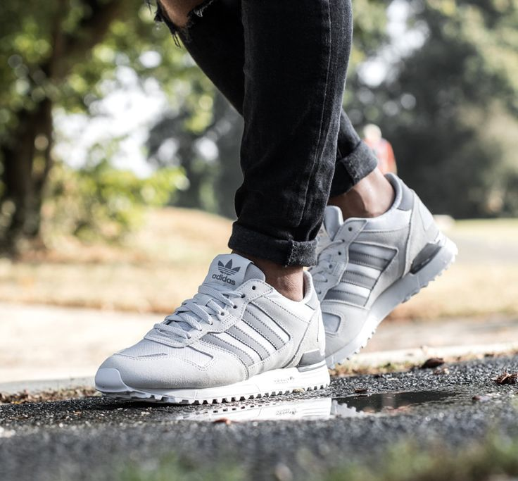 Adidas ZX 700 grey sneakers