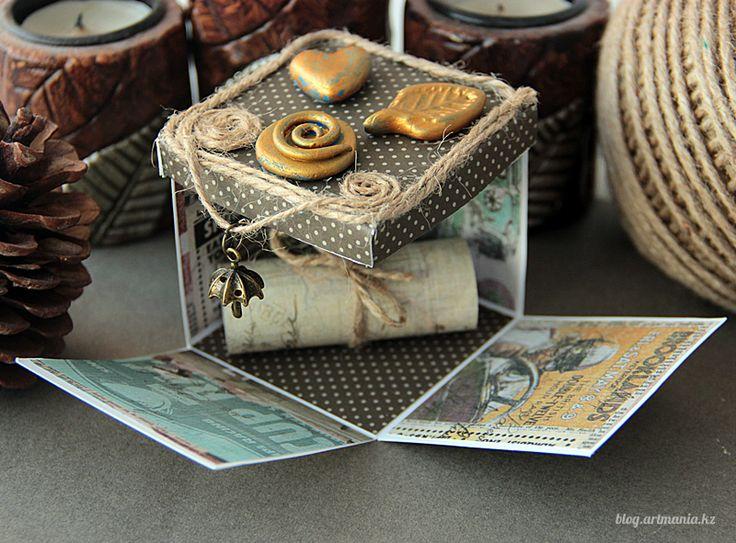 Мастер-класс «Magic Box — коробочка с секретом»