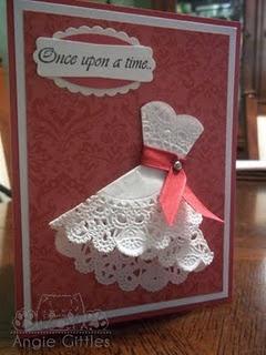 doily dress - for wedding