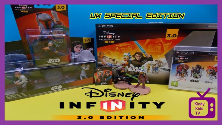 UK STAR WARS SPECIAL EDITION : Disney Infinity 3.0 unboxing. EXCLUSIVE  ...