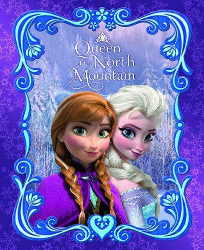 Disney Frozen Anna & Elsa Twin Blanket Queen of the North Mountain 59 X 78 Inches