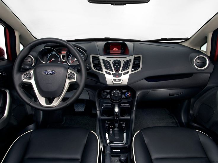 Ford Fiesta Sedan Interior