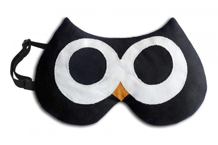 Stella the Owl van Leschi. Warm het oogmasker op in de magnetron voor 2 min of in de oven voor 15 min voor een ontspannen avondje. #oogmasker #cadeau #moederdag #sinterklaascadeau #kerstcadeau