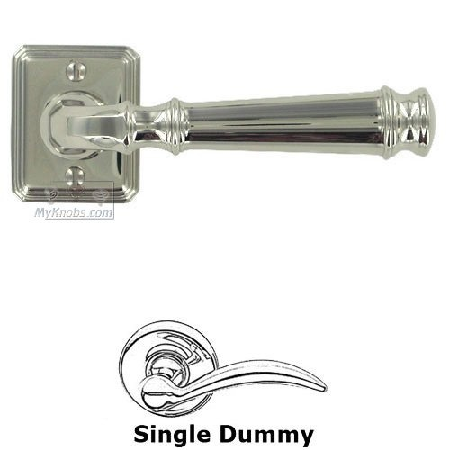 Door Levers by Omnia - Single Dummy Traditions Dover Lever with Small Rectangular Rosette in Polished  sc 1 st  Pinterest & 23 best Door hardware images on Pinterest | Computer hardware ...