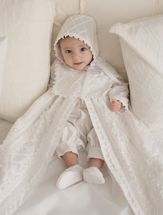 Baby Boy Christening Gown Spanish Style outfit ropones para