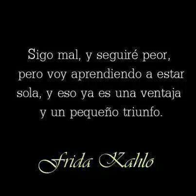 Sigo mal | Frida Kahlo