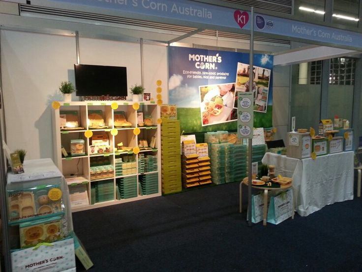 All set and ready to go at The Baby and Toddler Show at Darling Harbour, Sydney!