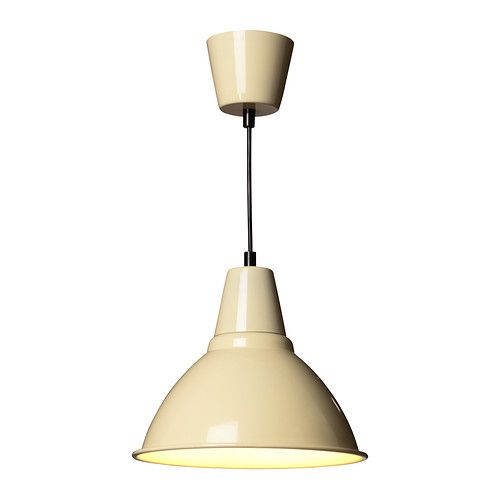 IKEA - FOTO, Pendant lamp, , This lamp gives a pleasant light for dining and spreads a good directed light across your dining or bar table.