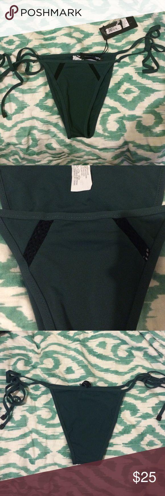 Tavik swimwear tie bottom in forest, xs Brand new with tags. Can fit a small, but will be skimpy. Tavik swimwear Swim Bikinis