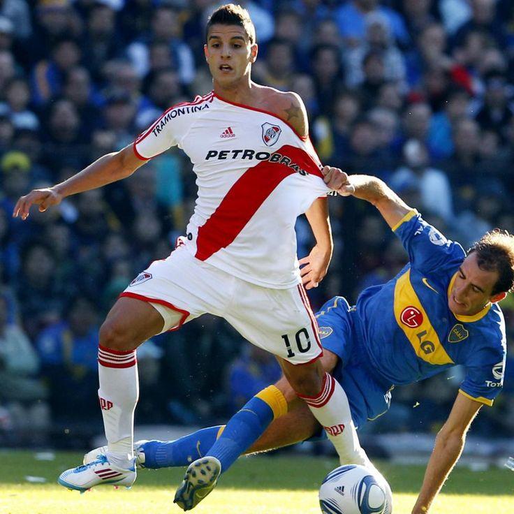 Erik Lamela ----River Plate vs Boca Jr