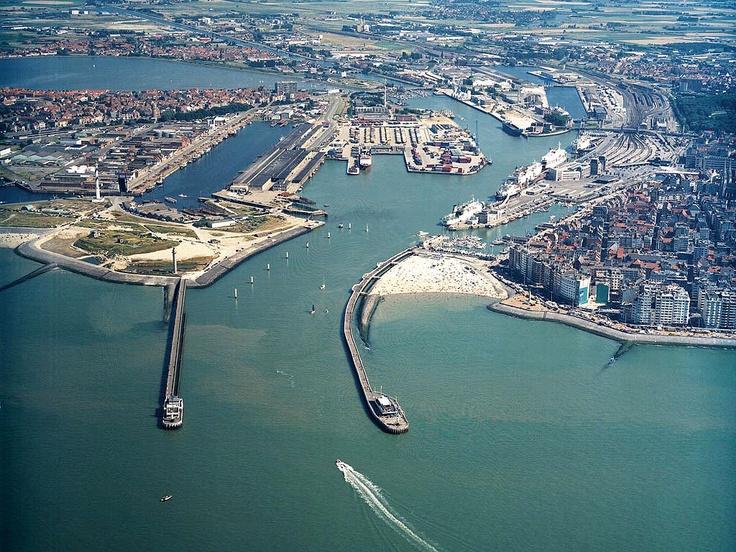 Ostend Ostende Belgium België Luxemburg En Vakantie
