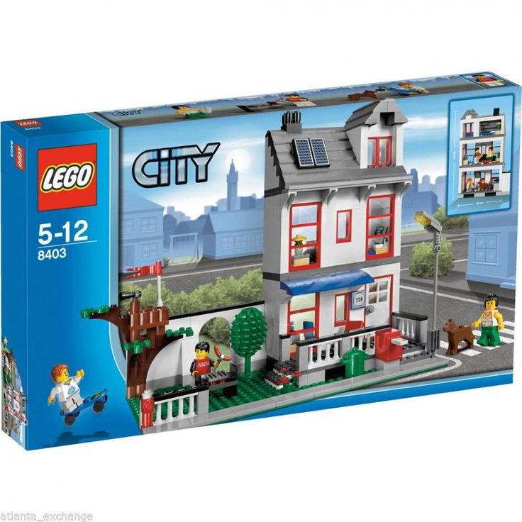 Brand New Lego City 8403 House Factory SEALED Box MISB Retired Connects to 7641 673419112505 | eBay