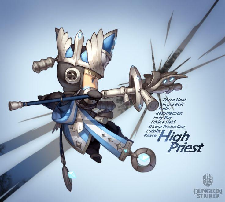 Dungeon Striker - High Priest male / from Dungeon Striker fansite kit