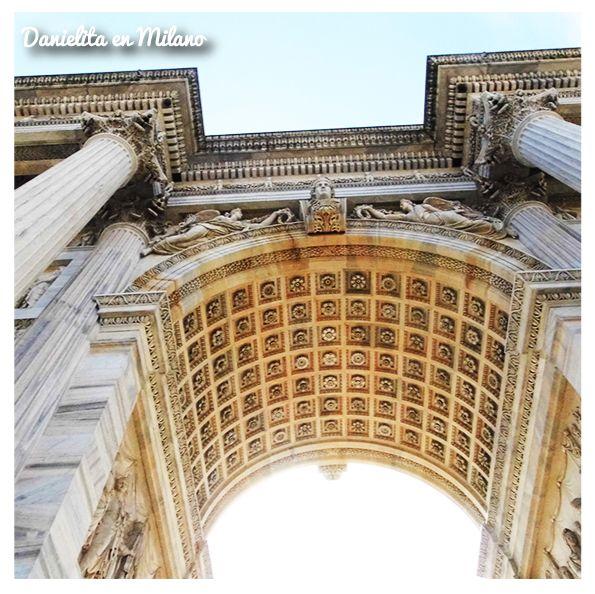 Arco della Pace en Milano, Lombardia