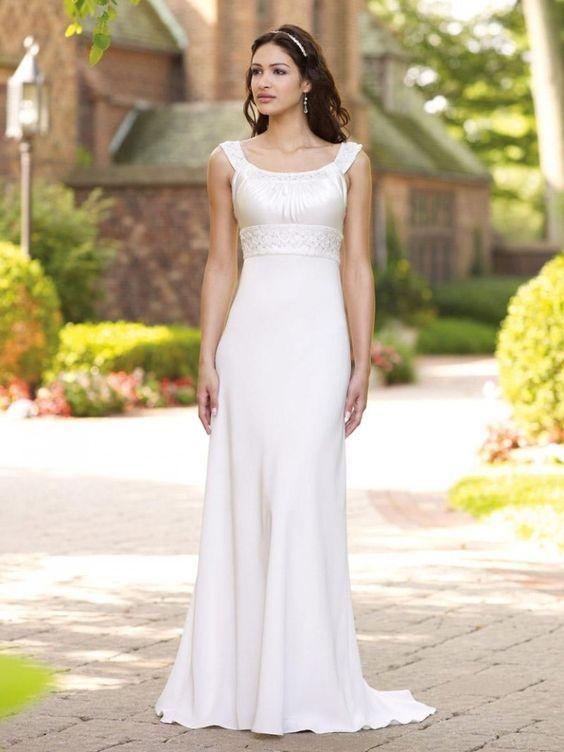 17 best Modest Wedding Dress images on Pinterest | Modest wedding ...