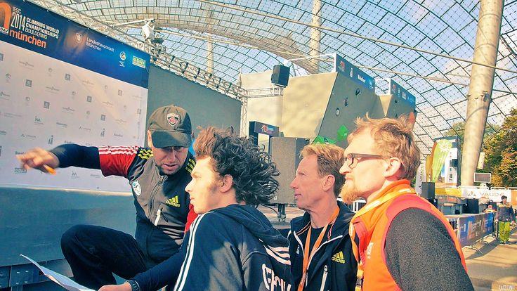 https://flic.kr/s/aHsk1UGvTB   Bouldering World Championships, Munich 2014   impressions of the epic Bouldering World Championships 2014 in Munich's Olympic stadion.