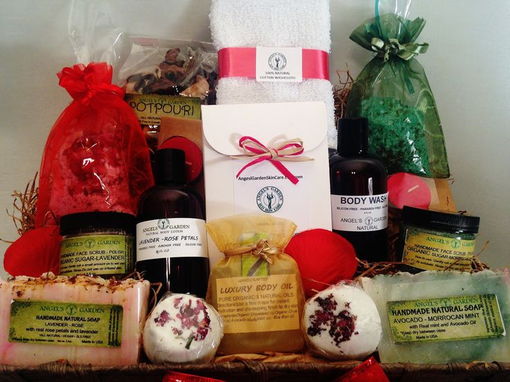 25 unique organic gift baskets ideas on pinterest gift basket holiday spa gift basket natural and organic ingredients paraben free sulfates free negle Image collections