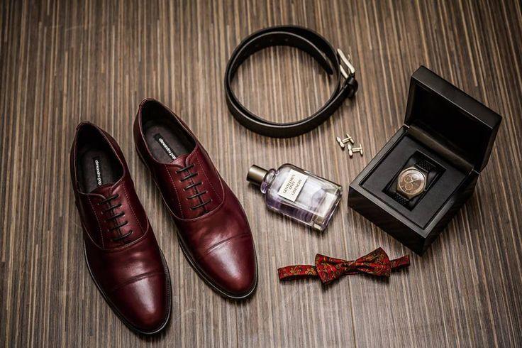 Oxford Cap-Toe Burgundy by Alexandru Pop #ShoesForMen#