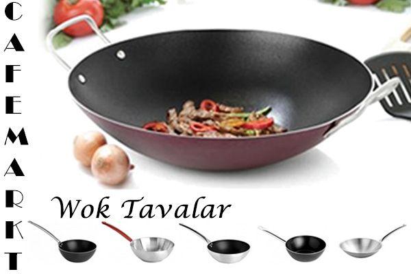 Çeşit çeşit farklı boyutlarda wok tavalar için tıklayın. http://www.cafemarkt.com/wok-tavalar-pmk369
