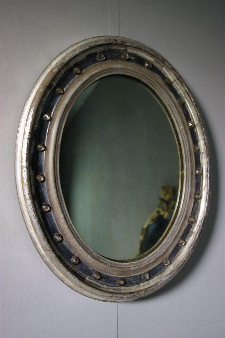 Antique Silver Bath Accessories: 25+ Best Ideas About Oval Mirror On Pinterest