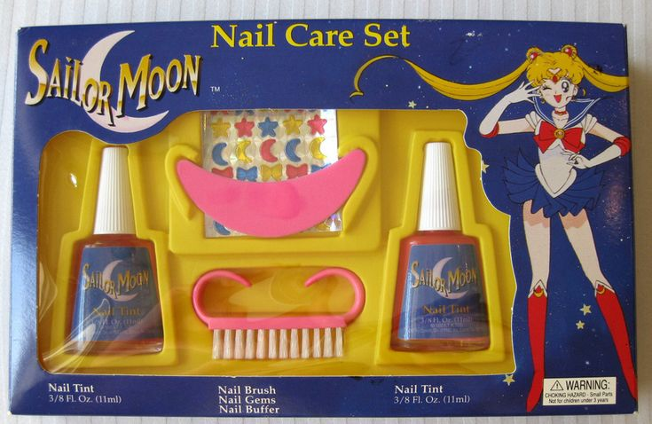 Stop What You're Doing Right Now And Look At This Sailor Moon Nail Kit