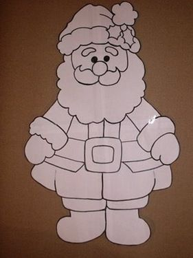 Manualidades Navidad para niños Papa Noel en foami | fiestas de Navidad