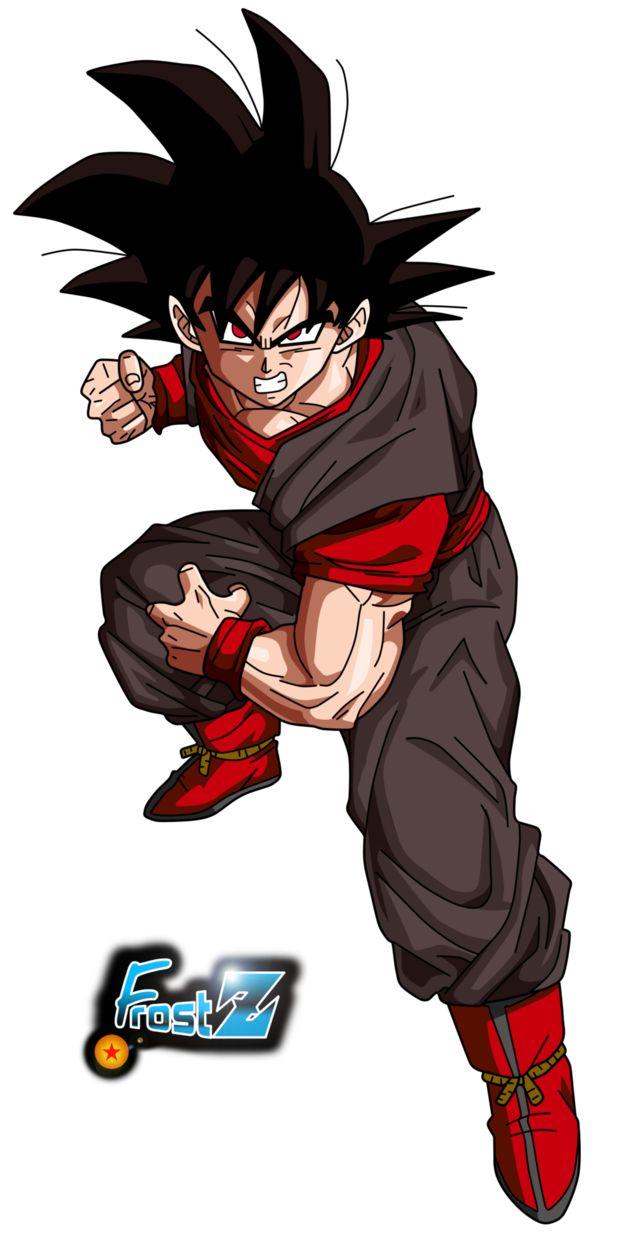 Evil Goku by Frost-Z on DeviantArt