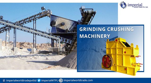 Crushing and Grinding Machine the Most Common Breakers  #GrindingMachine #CrushingMachinery #Crusher #HeavyMachinery #Manufacturers #Exporters #ImperialWorldTrade